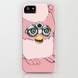 Pink Furby iPhone Case