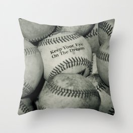 Keep Your Eye On The Dream Throw Pillow
