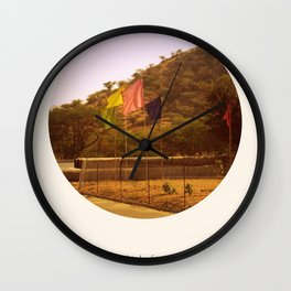i think of you in colors that don't exist Wall Clock