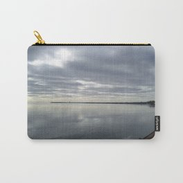 Icy Michigan Lake #3 Carry-All Pouch