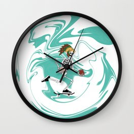 Half Pipe Full of Choices Wall Clock