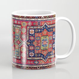 Kuba Sumakh East Caucasus Antique Rug Print Coffee Mug