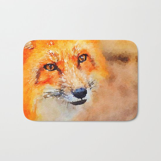 Fox 2 Bath Mat