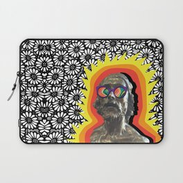 Sculture Wearing Wacky Marble Glasses Laptop Sleeve