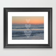 Dusk or Dawn Framed Art Print