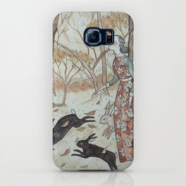 The Rabbit March iPhone Case