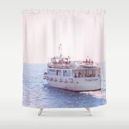 Italian Ferry Shower Curtain