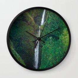 Sacred Falls Wall Clock