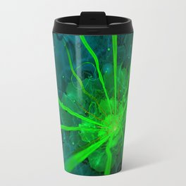 Atlantian Fractal -- Flower of the Long Sleep Travel Mug
