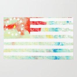 American Revolution Flag Rug