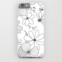 Lucie - white iPhone Case