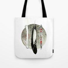 Earth, Air and Flesh Tote Bag