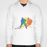 hockey Hoodies featuring Hockey by preview