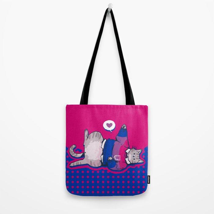 Pride Cats - Bisexual Pride Tote Bag