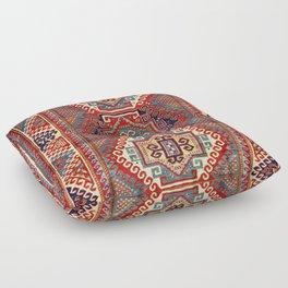 Borjalou Kazak Southwest Caucasus Antique Rug Print Floor Pillow
