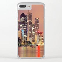 Brisbane City Clear iPhone Case