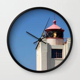 Port Hueneme Light Tower Wall Clock