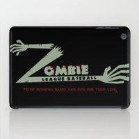 league iPad Cases featuring Zombie League Baseball by Ryan W. Bradley