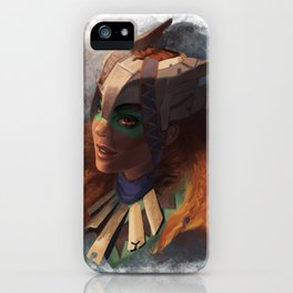 Huntress Of The Frozen Wilds iPhone Case