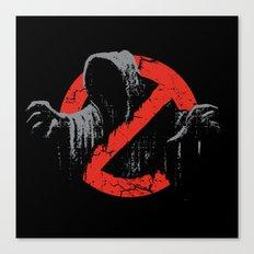 Ain't afraid of no wraith Canvas Print