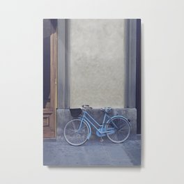 THE BICICLETTA IN FLORENCE №1 Metal Print