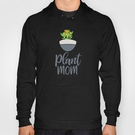 Potted Kalanchoe Plant Mom Pattern Hoody