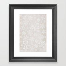 Winter Wander Framed Art Print