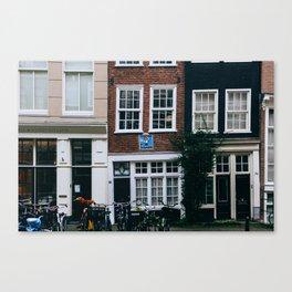 Grachtengordel - Amsterdam, The Netherlands - #6 Canvas Print