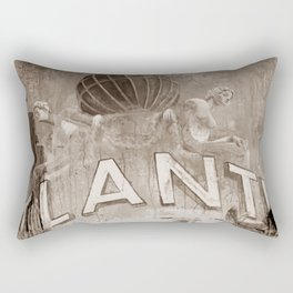 Good bye perl - Hans Albers version - sepia Rectangular Pillow