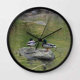 Day of the Duck Wall Clock