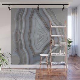 Neutral tones agate Wall Mural
