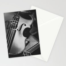 Violin Stationery Cards