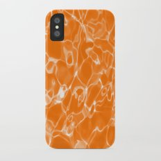 Orange Water iPhone X Slim Case