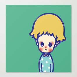 Where are you, little star? Canvas Print