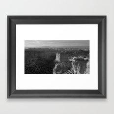 Valley in Utah Framed Art Print