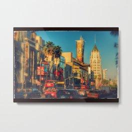 Hollywood Boulevard Metal Print