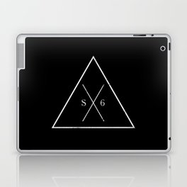 The Society Six (White Graphic) Laptop & iPad Skin