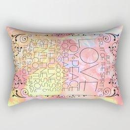 Fruit of the Spirit Rectangular Pillow