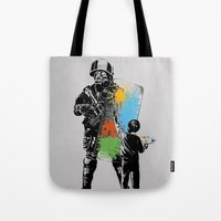 Turmoil Paint Tote Bag