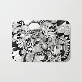 Inside the Brain Bath Mat