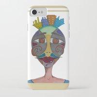 moustache iPhone & iPod Cases featuring Moustache by BNK Design