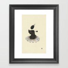 Dancer with Heart Framed Art Print