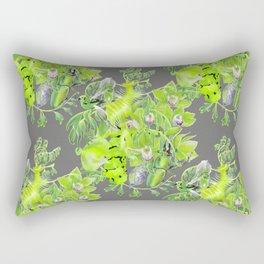 Chartreuse pattern Rectangular Pillow