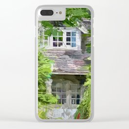 Summer House Clear iPhone Case