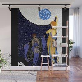 "Art Deco Design ""Night Dream"" Wall Mural"