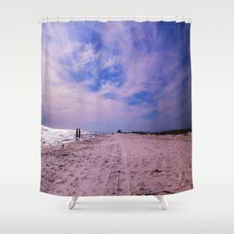 Walking Together Shower Curtain