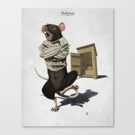 Shithouse Canvas Print