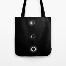 August 21, 2017 - Total Solar Eclipse Triptych Tote Bag