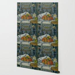 "Paul Cezanne ""Dish of Apples"" Wallpaper"