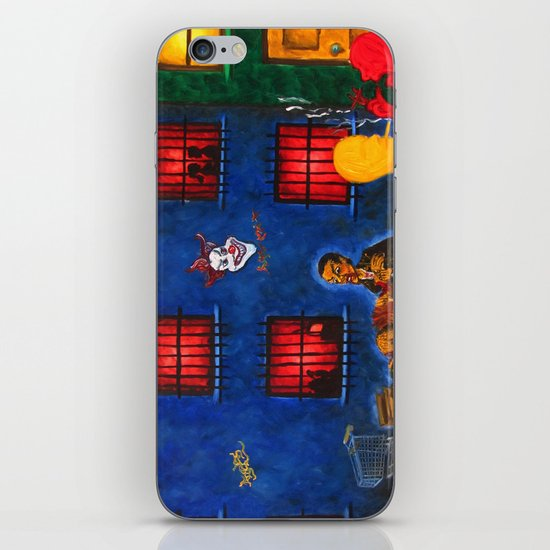 """Los Angeles 2"" iPhone & iPod Skin"